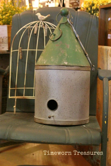 Birdhouse & Birdcage hanging