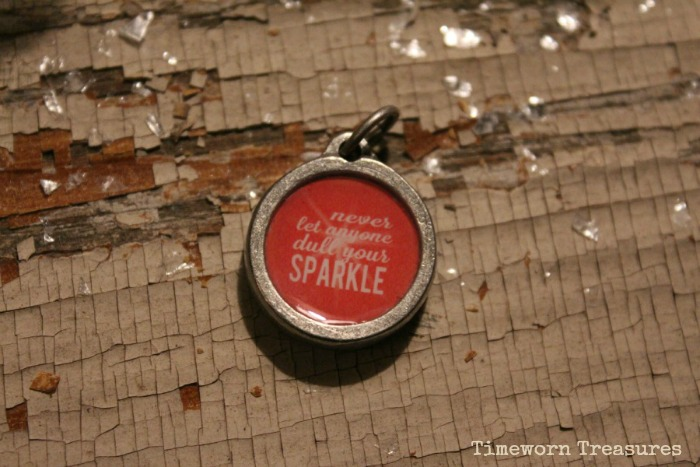 Never let anyone dull your sparkle charm