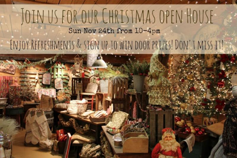Christmas Open House 2013