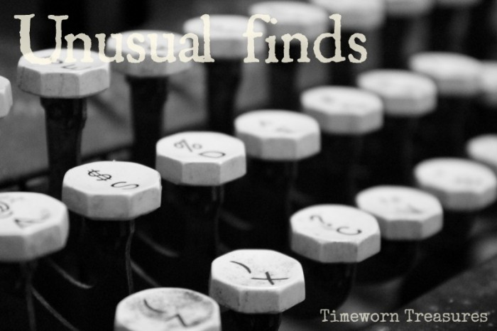 Unusual finds at Timeworn Treasures