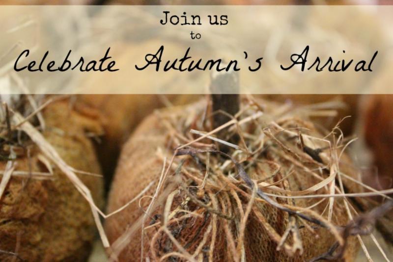 Celebrate Autumn's Arrival Event