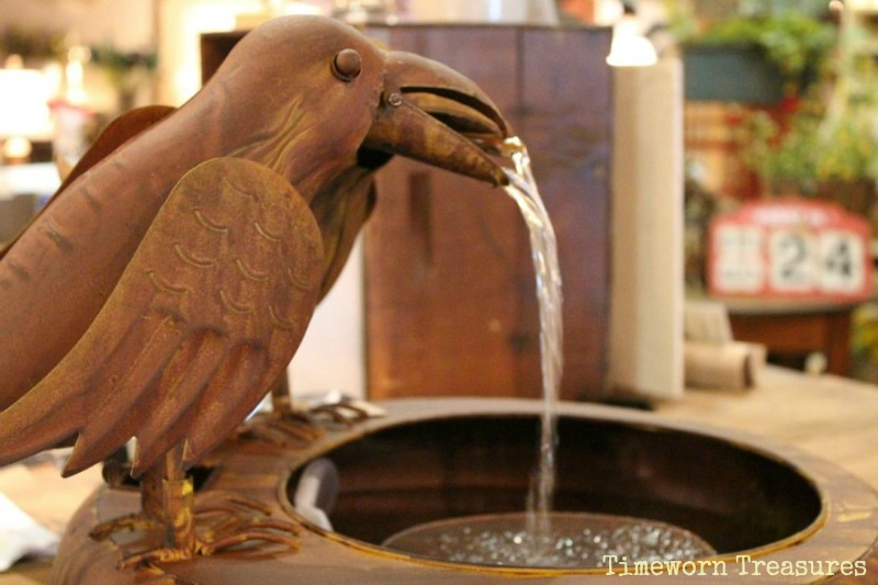 Bird fountain
