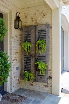 Decorating With Old Shutters - Best Interior 2018