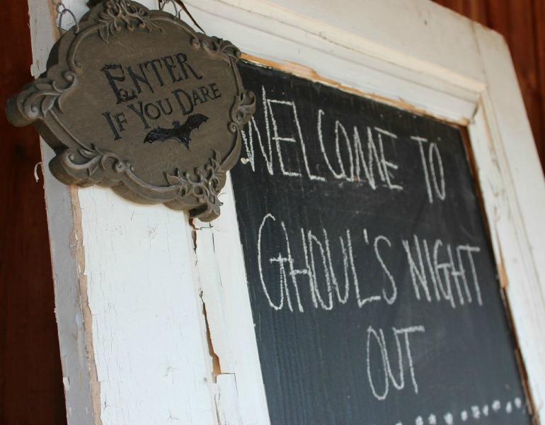 Ghoul' Night Out Welcome Door