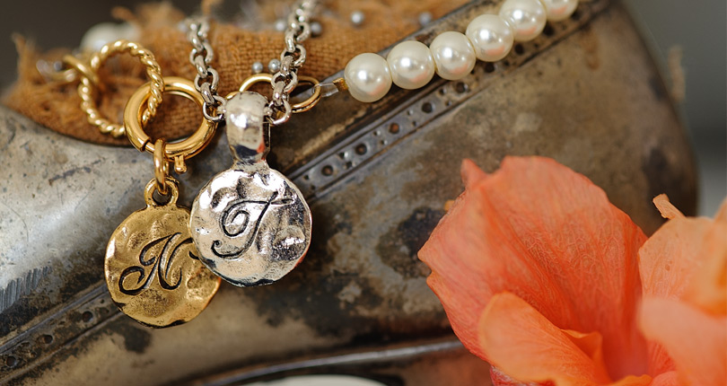 The Monogram Collection - Initial charms