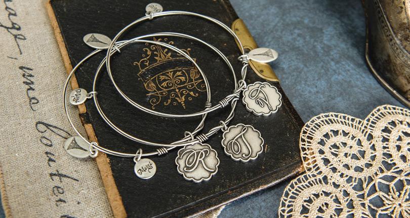 C'est la Vie charm bracelets