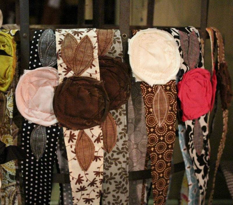 Vintage rose headwraps - Great for young girls, teens, and women of all ages!