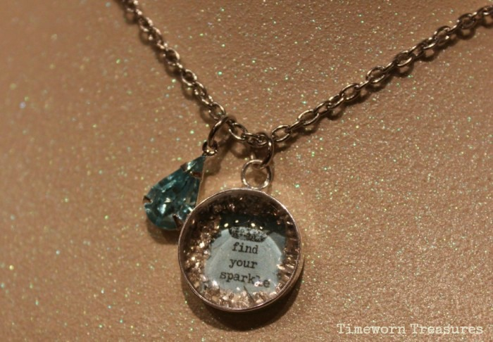 Find your sparkle necklace