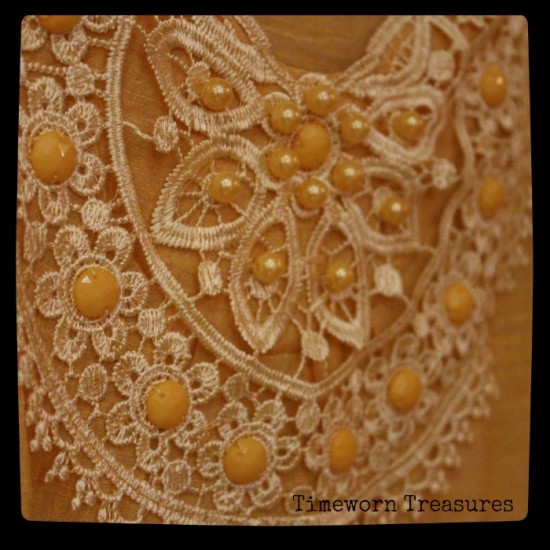 Tunic top detail