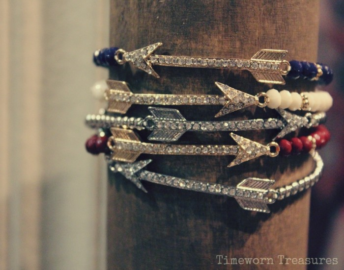 Arrow stretch bracelets