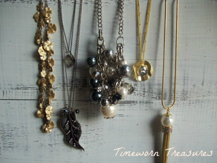 Unique collection of necklaces