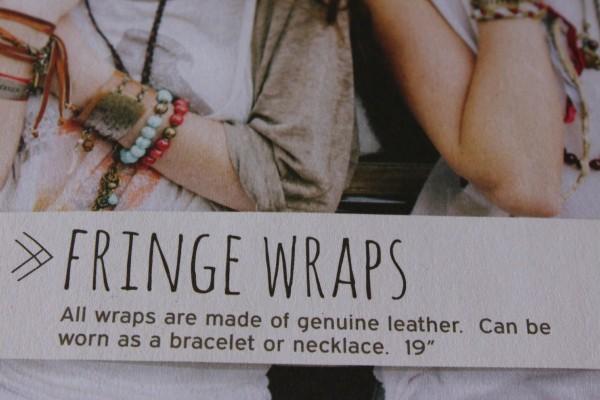 Fringe wraps