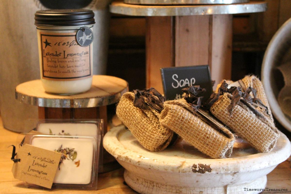 1803 candles, tarts, & handmade soap - Lavender Lemongrass