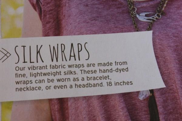 Silk wraps