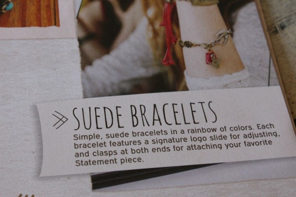 Suede bracelets
