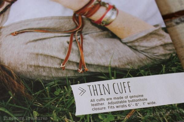 Thin cuff