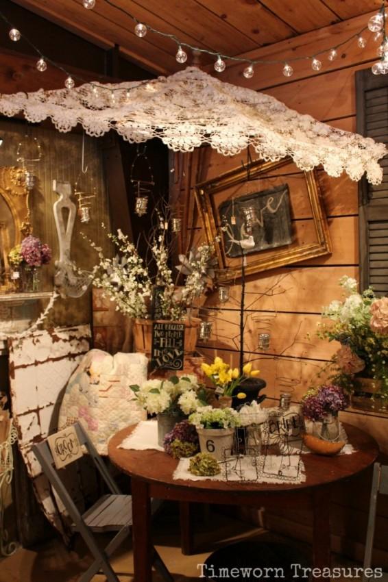 Umbrella wedding display