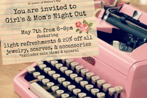 Mother's Day Events & Sales!