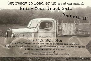 Annual Bring Your Truck Sale!