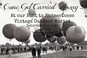 Vintage Outdoor Market Opening!