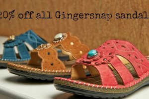 Gingersnap Sandals Sale