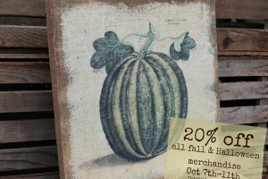 20% Off Fall & Halloween Sale