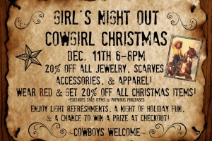 Girl's Night Out Event & Sale!