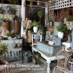 French Garden Vignette