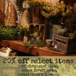 20% Off Select Items!