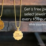 Free Jewelry With Purchase!