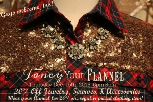 Fancy Your Flannel Girl's Night!